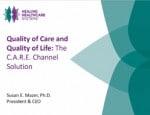 Quality of Care Quality of LIfe Webinar