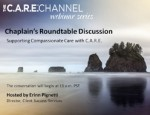 Chaplain's Roundtable Discussion